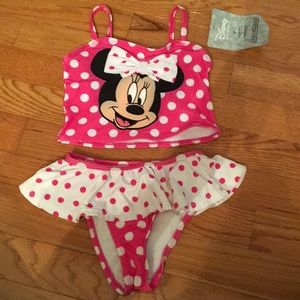 NWT 3t Disney store Minnie Mouse bikini